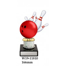 Ten Pin Bowling Trophies W19-11810 - 166mm Also 191mm 216mm & 241mm
