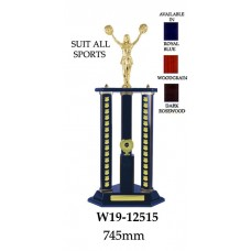 Perpetual Trophies W19-12515 - 745mm