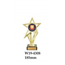 Knowledge Graduation Trophies W19-4308 - 185mm