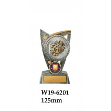 Music Trophies W19-6201 -125mm Also 150mm & 175mm
