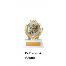Music Trophies W19-6204 - 90mm Also 110mm & 130mm