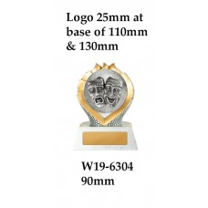 Drama Trophies W19-6304 - 90Also 110mm & 130mm Also 135mm