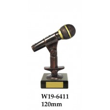 Music Trophies W190-6411 - 120mm Also170mm, 195mm & 230mm