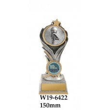 Music Trophies W19-6422 - 150mm Also 175mm & 200mm
