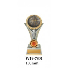 Basketball Trophies W19-7801 - 150mm Also 175mm 195mm 225mm