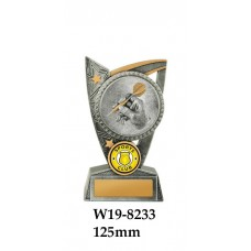 DartsTrophies W19-8233 - 125mm Also 150mm & 175mm