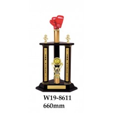 Boxing Trophies W19-8611 - 660mm Also 765mm & 855mm
