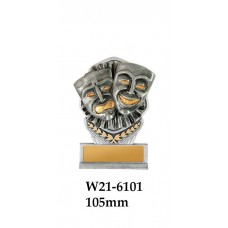 Drama Acting Trophies W21-6101 - 105mm Also 140mm 180mm 210mm & 240mm