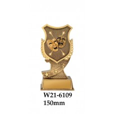 Drama Trophies W21-6109 - 150mm Also 175mm