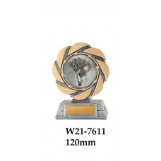 Playing Cards Trophies W21-7611 - 120mm Also 140mm & 155mm