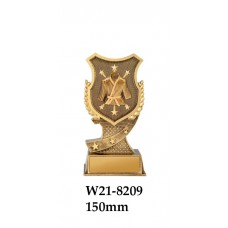 Martial Arts Trophies W21-8209 - 150mm Also 175mm