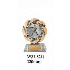 Martial Arts Trophies W21-8211 - 120mm Also 140mm & 155mm