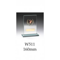 Corporate Awards Jade Glass W511 - 160mm Also 190mm & 220mm