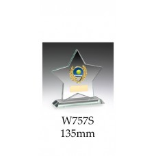 Corporate Awards Jade Glass W757S - 135mm Also 150mm & 180mm