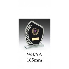 Corporate Awards Black Glass W879A - 165mm Also 185mm & 205mm