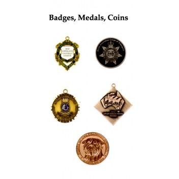 Badges Custom Medals Coins Key Rings Custom