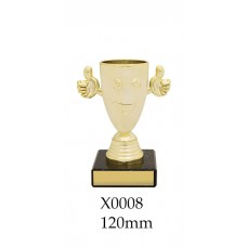 Novelty Trophy - Happy Cup - X0008 - 120mm