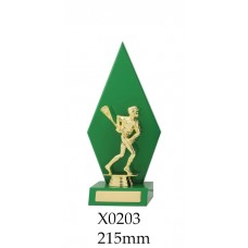 Lacrosse Trophies X0203 - 215mm Also 250mm & 285mm