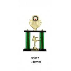 Martial Arts Trophies X3112 - 340mm