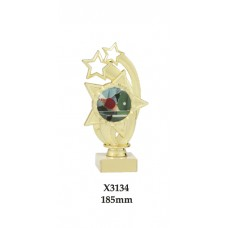 Table Tennis Trophies X3134 - 185mm