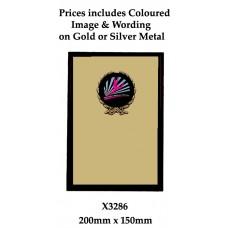 Plaque X3286 Black