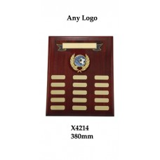 Perpetual Plaques X4214 - 380mm