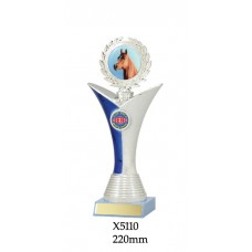 Equestrian Trophies X5110 - 220mm Also 240mm & 260mm