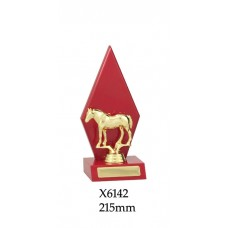 Equestrian Trophies X6142 - 215mm  Also 250mm & 285mm