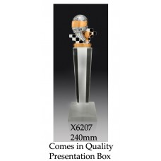Motorsport Trophies Crystal X6207 - 240mm Also 265mm & 290mm