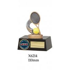 Tennis Trophies X6214 - 110mm