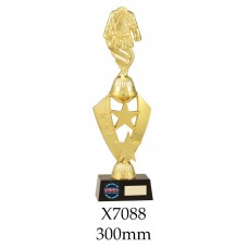 Martial Arts Trophies X7088 - 300mm Also 315mm & 330mmmm