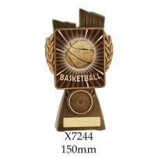 Basketball Trophies X7244 - 150mm Also 175mm, 210mm & 245mm