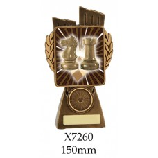 Lawn Bowls Trophies X7256 - 150mm Also 175mm 210mm & 245mm