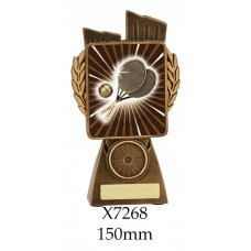 Tennis Trophies X7268 - 150mm Also 175mm 210mm & 245mm