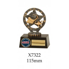 Knowledge Graduation Trophies X7322 - 115mm Also 175mm, 195mm & 225mm
