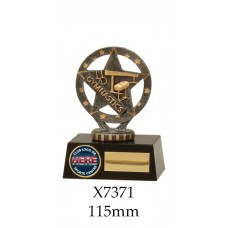 Gymnastics Trophies X7371 - 115mm