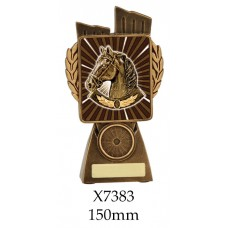 Equestrian Trophies 7383 - 150mm Also 175mm 210mm & 245mm