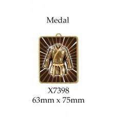 Martial Arts Medals X7398 - 63mm x 75mm