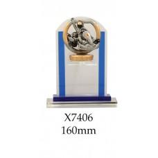 Motorsport Go Kart Trophies Glass X7406 - 160mm Also 180mm & 210mm