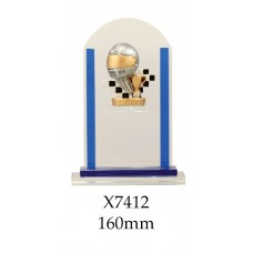 Motorsport Trophies Glass X7412- 210mm