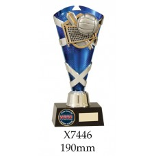 Volleyball Trophies X7446 - 190mm Alsao 210mm & 235mm