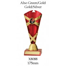 Dance Trophies X8088 - 175mm Also 195mm & 215mm